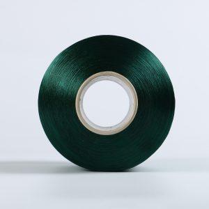 FDY polyester yran Blackish green   TRB  bright  75D/36F   AB134