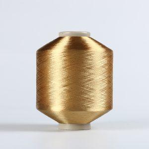 FDY polyester yran Golden Raw bright 75D/36F DB022